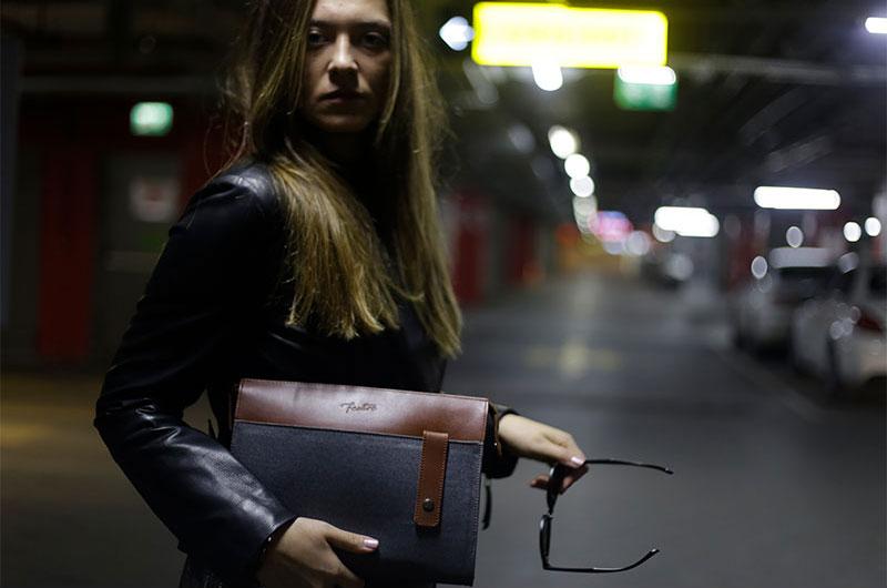 bayan deri el çantaları